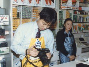 本店でフィルムを売っていた頃
