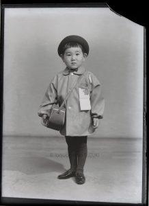幼稚園入園記念写真