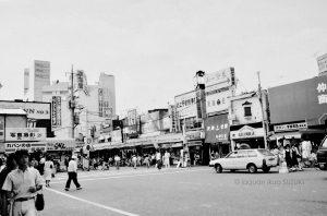 らかん駅前仮店舗昭和58年